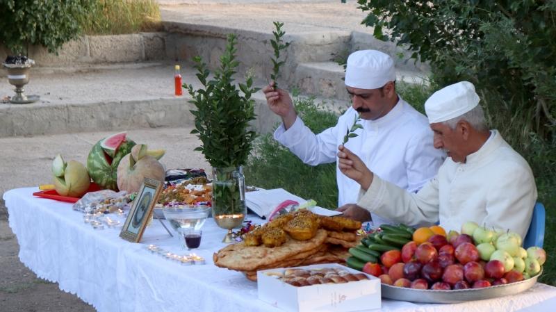 Food is the main part of Zoroastrians' ceremonies